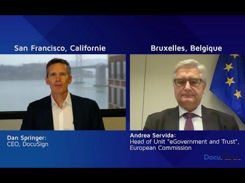 eIDAS : entretien avec Andrea Servida, de la Commission Européenne