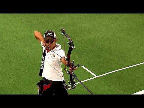 Compound Men Individual Bronze- Stage 4 : WROCLAW - Archery World Cup 2014