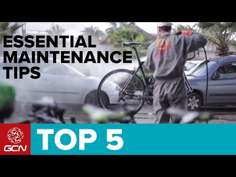 5 Essential Bike Maintenance Tips