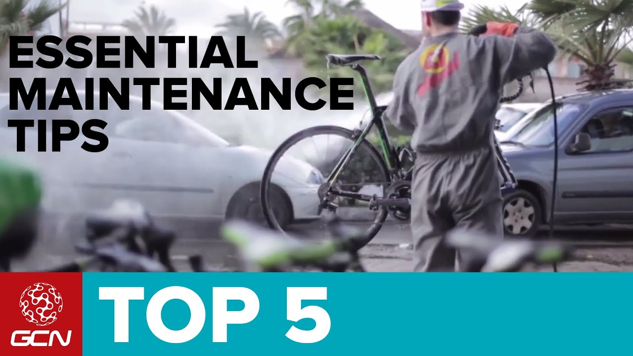 5 Essential Bike Maintenance Tips Youtube
