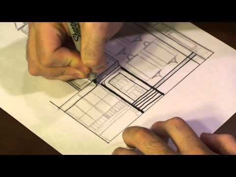 How to Draw a Victorian House