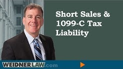 Short Sales and 1099-c Tax Liability-The Key to Resolving A Foreclosure Case