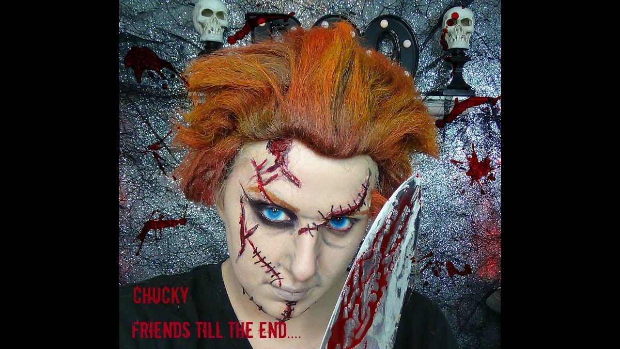Chucky Makeup Tutorial - YouTube