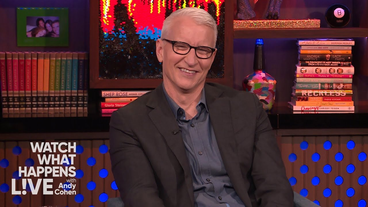 Diaper Daddies: Anderson Cooper & Andy Cohen | WWHL