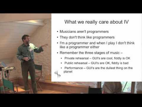Eigenharp DevCon 2012 : The Moral Agent