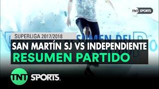 Video Gol Pertandingan San Martin San Juan vs Independiente