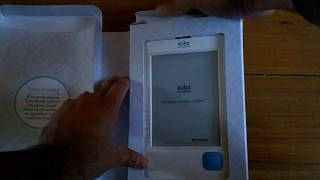 Kobo eInk Ebook Reader Unboxing & Size Comparison With Paperback Book and Kindle DX