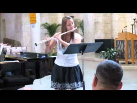 Sicilienne by Faure - flute solo performed by Rachel Cernosek