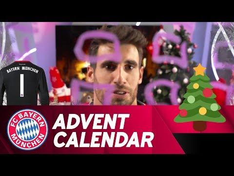 Drawing w/ Javi Martínez | FC Bayern Xmas Advent Calendar #1