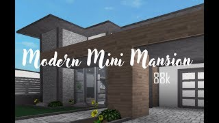 ROBLOX | Bloxburg : Modern Mini Mansion 88K