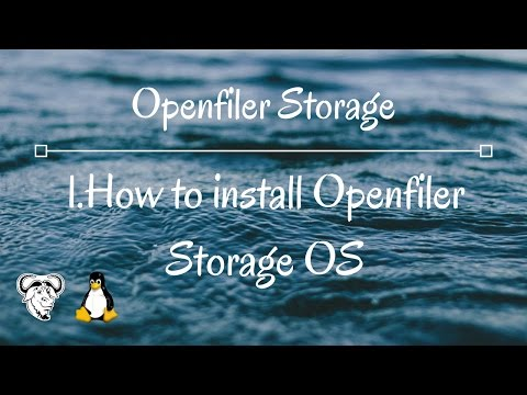 1.Openfiler Storage how to install openfiler OS