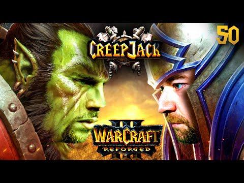 Jannes Unter Druck: Erste Reforged-Liga-Matches | Creepjack - Warcraft 3 Reforged #50 Mit Florentin