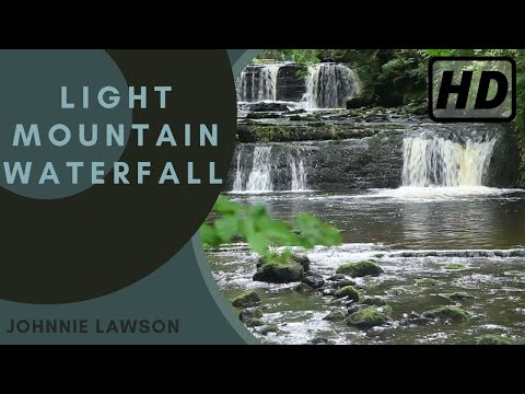Waterfall & Forest Nature Sounds-Birds Singing-Soothing Sound of Water-Relaxing Birdsong