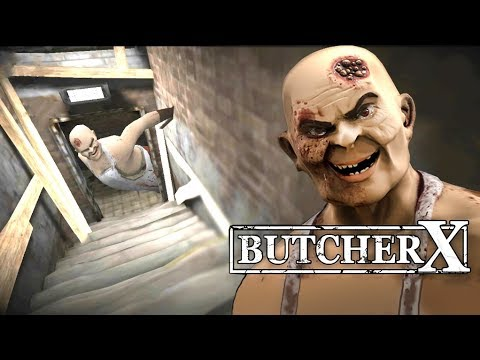 BUTCHER X - Part 2 | Full Gameplay Scary Horror Game/Escape from hospital