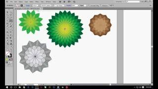 How to Create Spirograph in illustrator in Hindi | How to Design Rangoli in Illustrator in Hindi