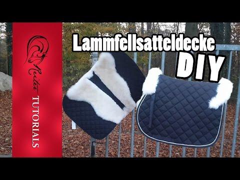 diy lammfell schabracke ganz einfach selber machen reitertutorials youtube. Black Bedroom Furniture Sets. Home Design Ideas