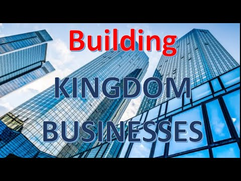 Passion, Purpose & Plan - Building A Kingdom Business
