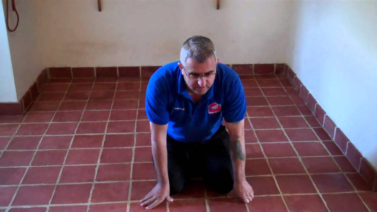 Clean and completely restore your terracotta tile floor like this clean and completely restore your terracotta tile floor like this one 0153654006 dailygadgetfo Images