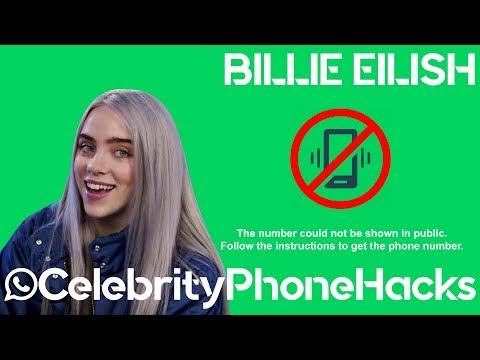 Billie Eilish's real phone number!!!!!