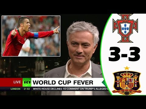 PORTUGAL VS SPAIN 3-3 [POST MATCH ANALYSIS] WITH JOSÉ MOURINHO!
