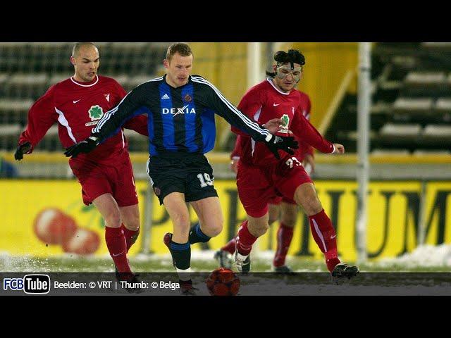 2003-2004 - UEFA-Cup - 01. 16de Finale - Club Brugge - Debreceni VSC 1-0