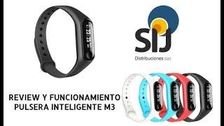 Pulsera Inteligente M3 - Review y Funcionamiento