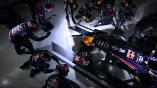 REAL SLOW-MO F1 PITSTOP - RED BULL - 2:05 SECONDS- THAT'S RIDICULOUS!
