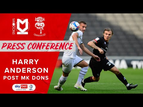 Harry Anderson post MK Dons