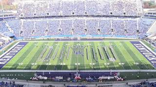 University of Kentucky Wildcat Marching Band 11-17-18 Senior Celebration Halftime Show