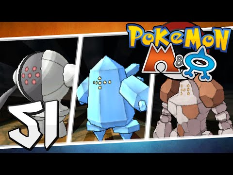 Pokémon Omega Ruby and Alpha Sapphire - Episode 51 | Regirock, Regice, and Registeel!