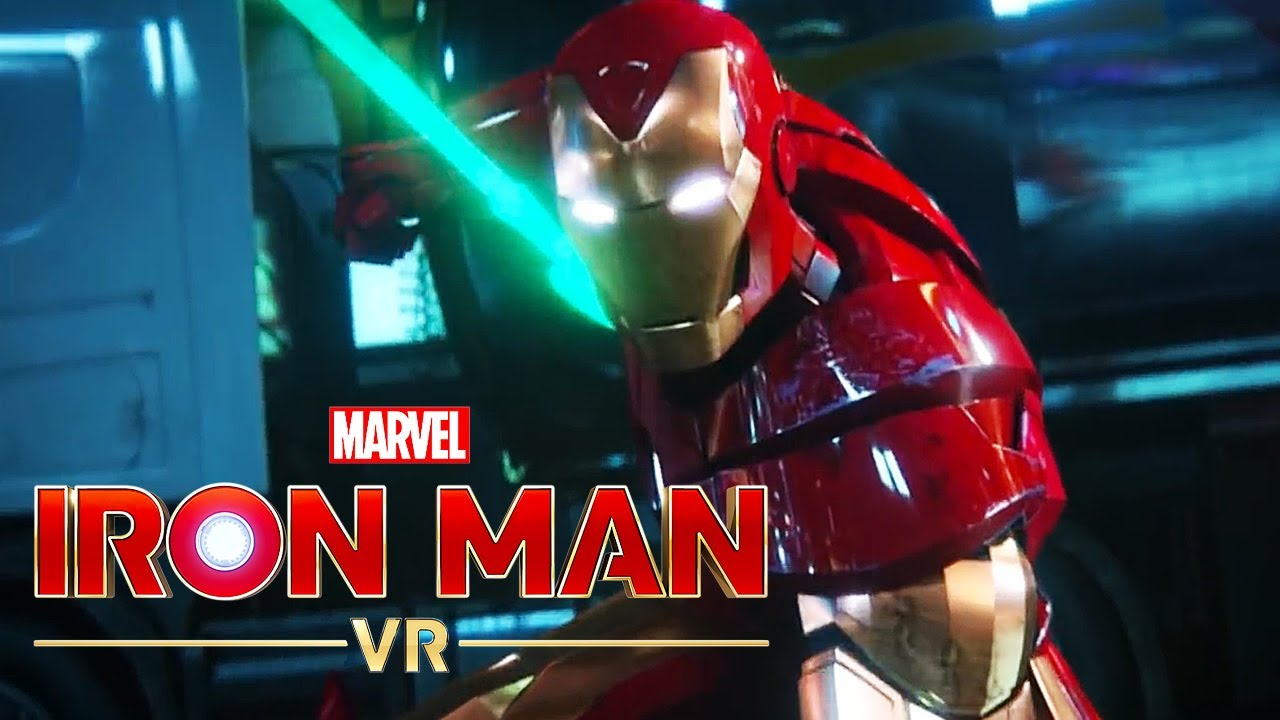 Marvel's Iron Man VR - Suit Up For Greatness Trailer - YouTube
