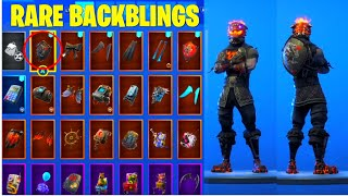"FORTNITE ""LAVA LEGENDS"" PACK MOLTEN BATTLE HOUND RARE BACKBLINGS!"