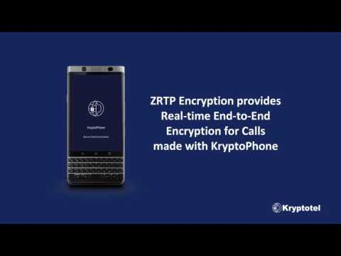 KryptoPhone - ZRTP Real-time End-to-End Encryption for Calls with KryptoPhone