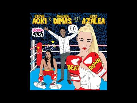 Steve Aoki And Angger Dimas Ft. Iggy Azalea - Beat Down (Instrumental)