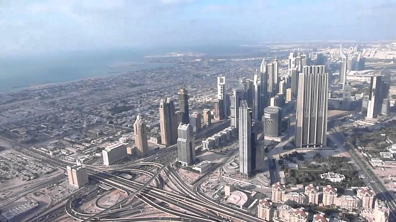 View from Burj Khalifa's