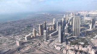 View from Burj Khalifa's