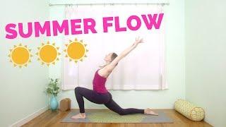 Summer Solstice Hatha Flow Yoga (15-min)