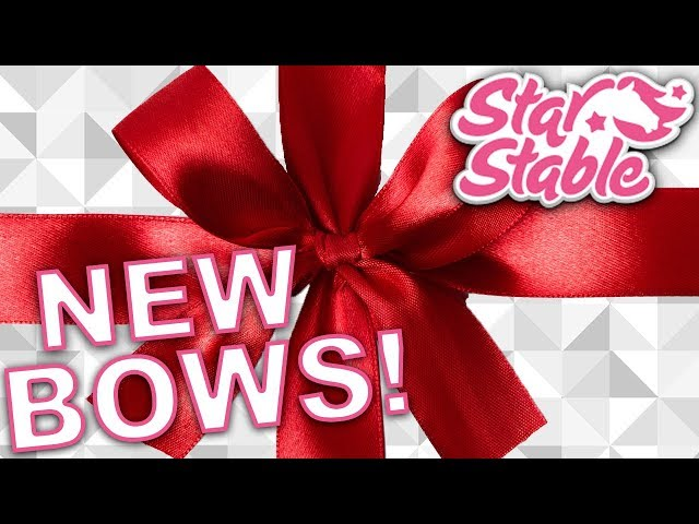 Star Stable New CUTE Horse Mane & Tail Bows!?! | Star Stable Online