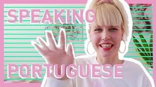 Xuxa holandesa - Cecile falando em português