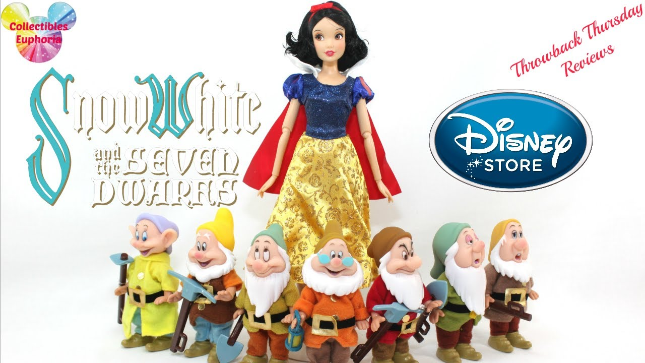 Throwback Thursday Reviews: Disney Store | Seven Dwarfs Set from Snow White  and the Seven Dwarfs