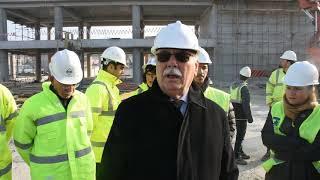 Belediye Başkanı Sayın Ülgür Gökhan'ın Çevre Dostu Yeşil Yerel Yönetim Binası Teknik İncelemesi...