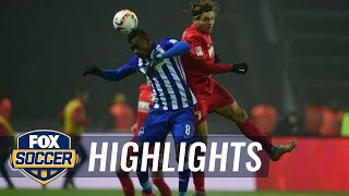 Video Gol Pertandingan Hertha Berlin vs FC Augsburg