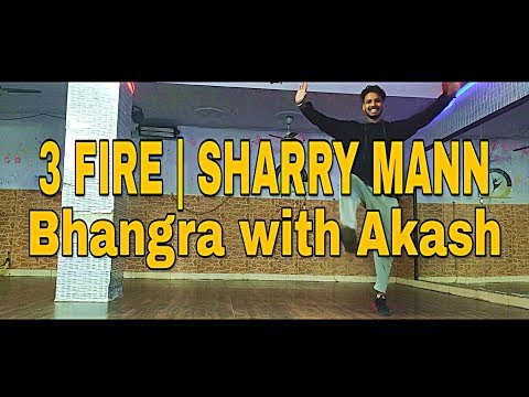 3 Fire Sharry Maan Ft Mista Baaz    Dance choreography by Akash   Starboy Akash   Punjabi Song 2019 