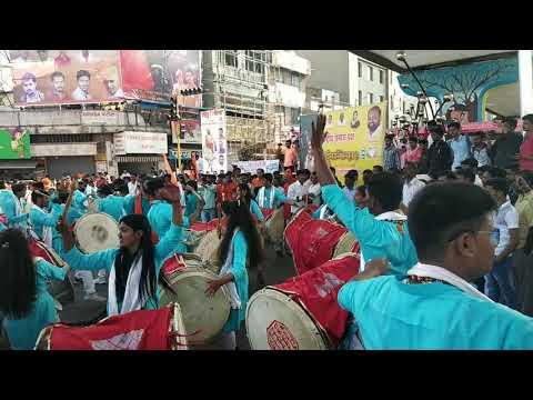 Chatrapati Shivaji Maharaj Jayanti Dhol Tasha Latur🚩🚩🚩