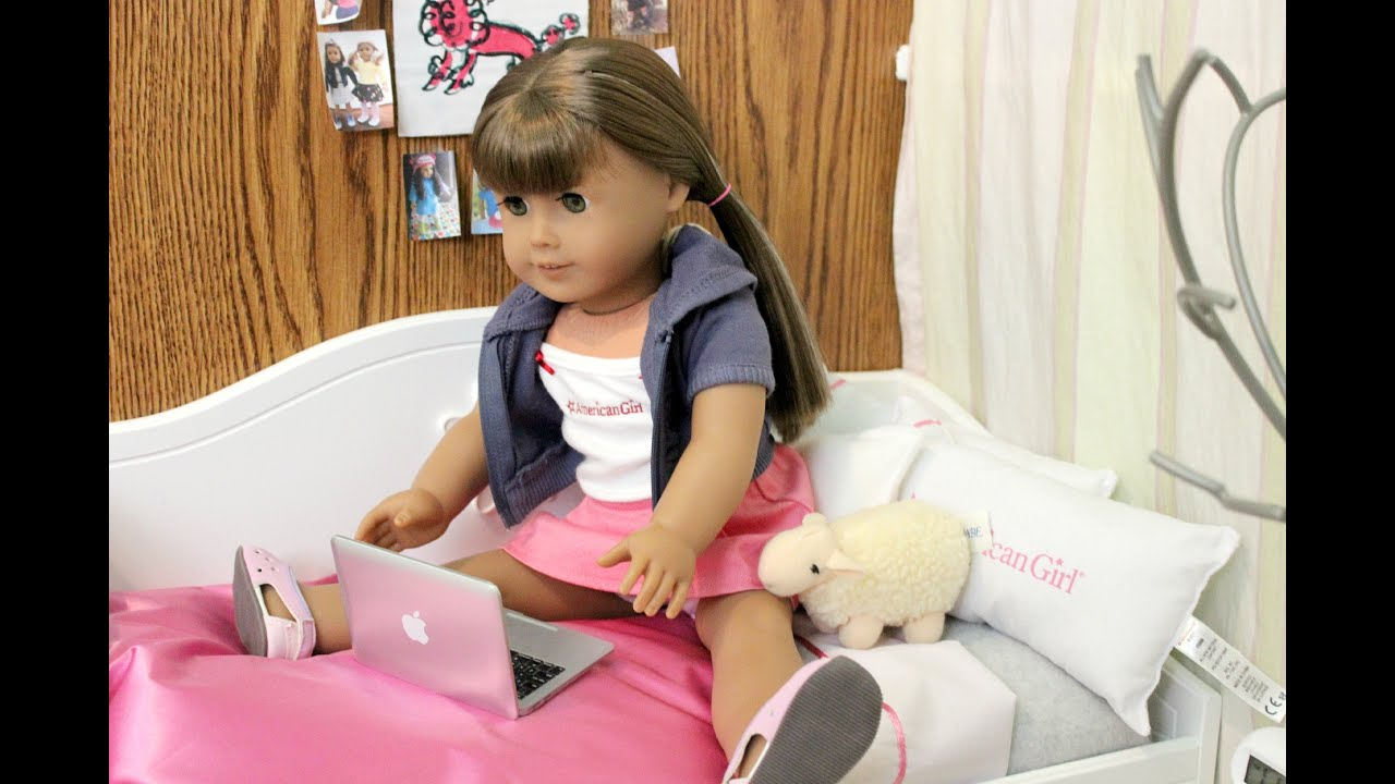 making an american girl doll room youtube - How To Make A American Girl Room