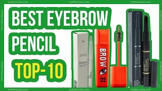 Top 10: Best eyebrow pencil drugstore
