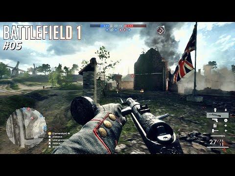 BATTLEFIELD 1™ St. Quentin - Conquista | Assalto ★ MP18 Só Rip Fire/ Dicas Zigueira/ 23/17 #BF1 #05