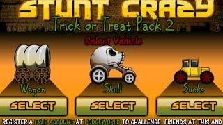 Stunt Crazy Trick Or Treat Pack 2 Walkthrough