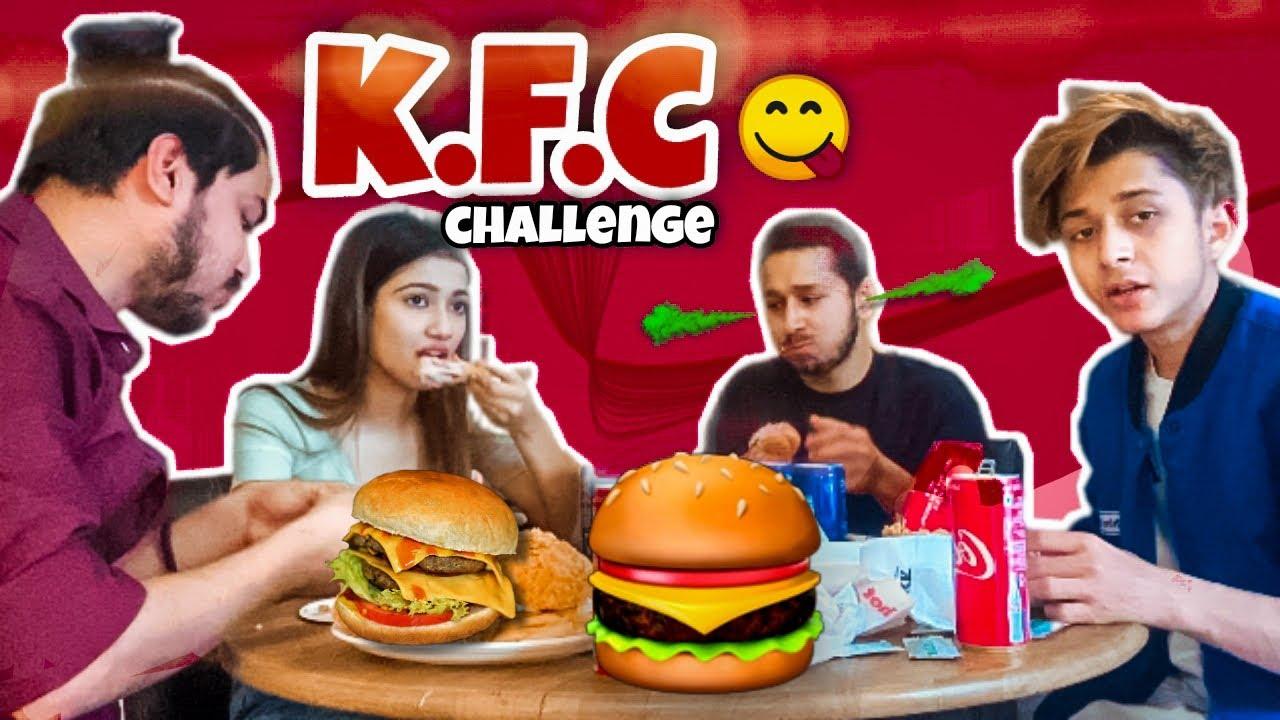 KFC FOOD CHALLENGE | @RAHUL GHILDIYAL | @Amrita Khanal | VARUN GHILDIYAL | PANKAJ CATCHING