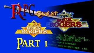 RPG Quest #55: Buck Rogers: Countdown to Doomsday (Genesis) Part 1